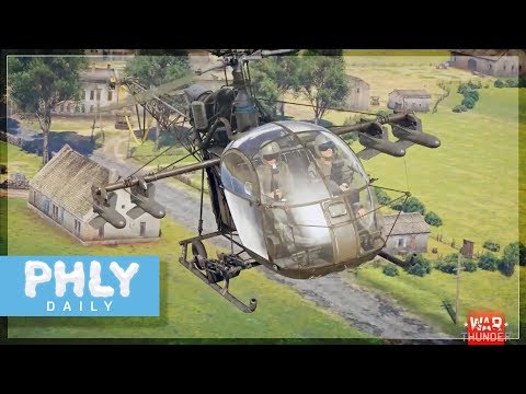 German Helicopters | Phlying MG-42s )) (War Thunder 1.83)