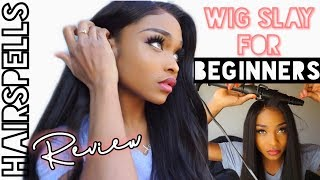 HAIRSPELLS WIG REVIEW | HOW TO SLAY A WIG (START TO FINISH) FOR ABSOLUTE BEGINNERS