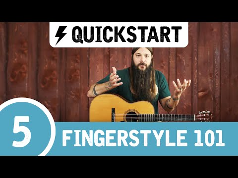 Tony's Beginner Fingerstyle Guitar Lesson ➎