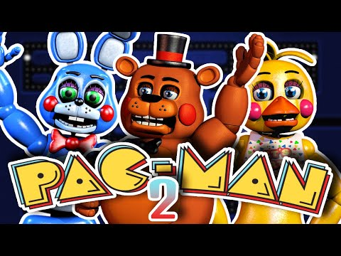 THIS GAME IS STILL IMPOSSIBLE...! | Five Nights At Freddy's PACMAN 2