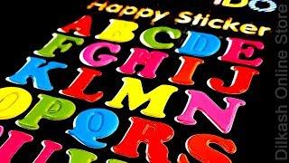 Stickers Online - Alphabet Happy Sticker - ACC-005 - Dilkash Online Store