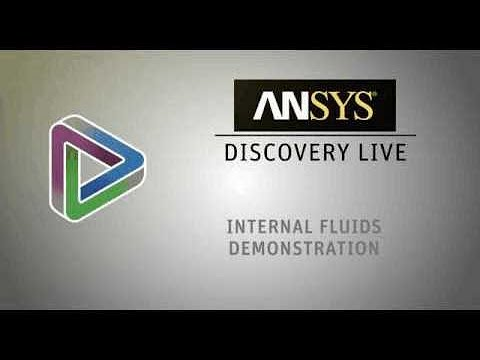 Internal Flow of a Duct Simulation with ANSYS Discovery Live [Tutorial]