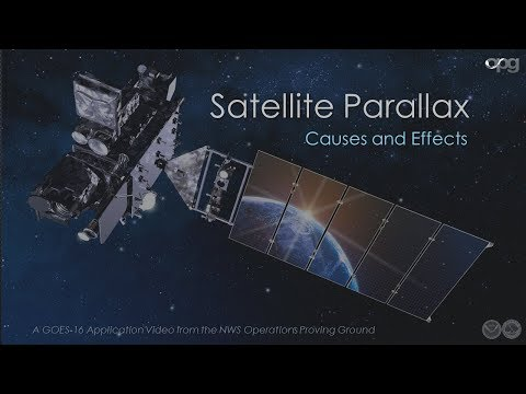 Satellite Parallax