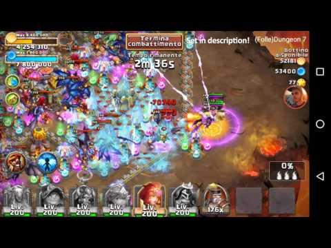 Castle Clash - Insane Dungeon 7 - 2