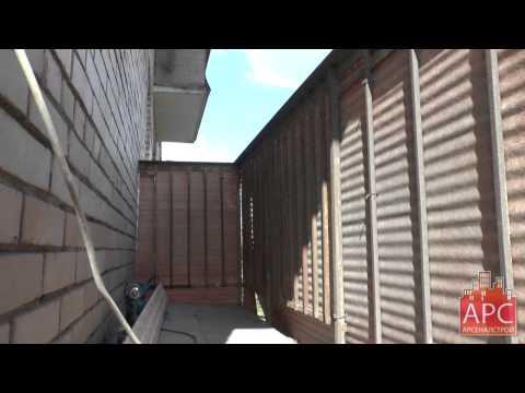Арсеналстрой - пример остекления и отделки балкона - видео n.