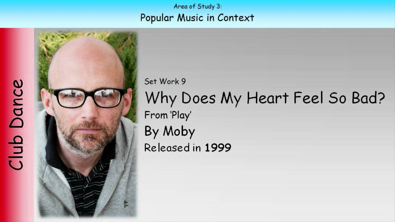 moby why does my heart feel so bad essay