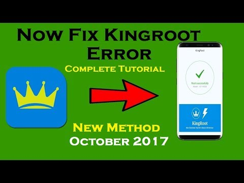 How to Root Any Android Device Easily | How to Fix Kingroot Error | New – YouTube Oct (2017)