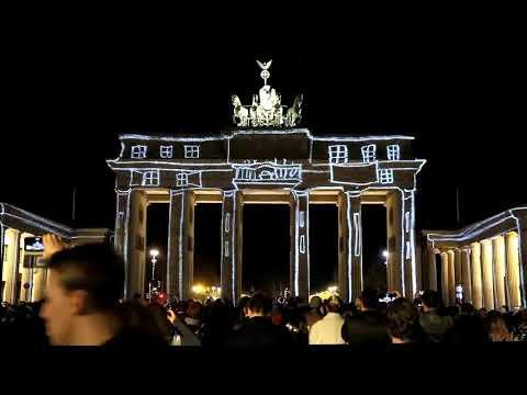 Berlin Light Festival 2017 Brandenburger Gate