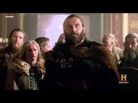 Vikings season 3, Rollo meeting the princess of Paris