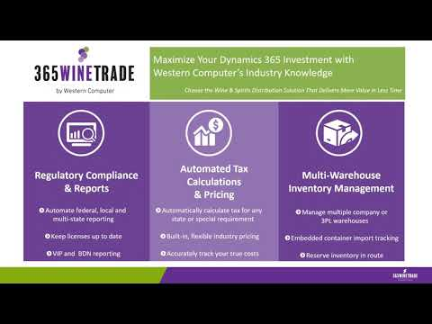6 Main Pillars of 365WineTrade Functionality | 365WineTrade