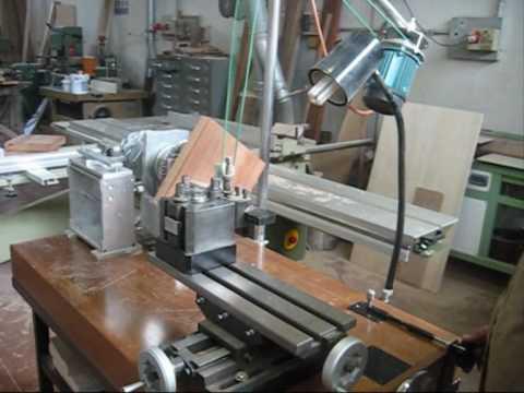 Tornio per legno tot parte 1 doovi for Costruire tornio legno