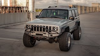 BUILDING A JEEP CHEROKEE XJ IN 10 MINUTES! OFF-ROAD BUILD