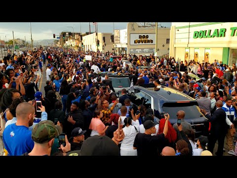 Nipsey Hussle's Victory Lap REST IN PEACE | THE MARATHON CONTINUES