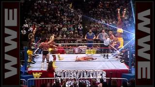The Mega Powers outlast everybody: Survivor Series 1988