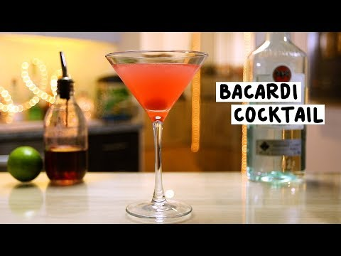 Bacardi Cocktail - Tipsy Bartender