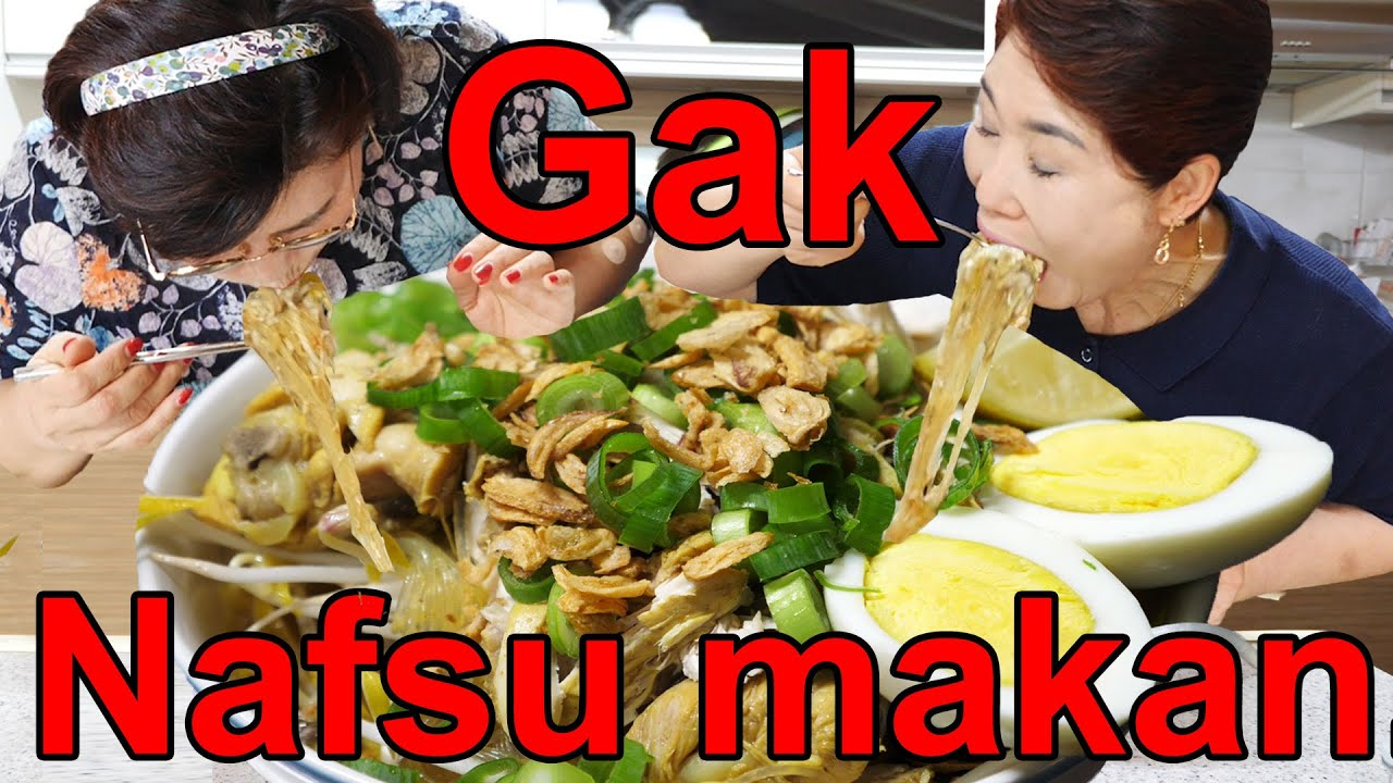 Hanya makan sepanci soto ayam pakai satu ekor ayam ya..Apa sakit..?