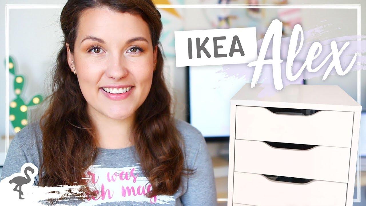 Ikea Alex Ausmisten Organisation Im Buro Nurwasichmag Youtube