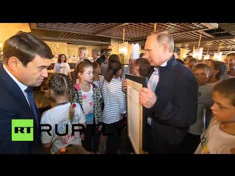 Russia: Ever seen Putin take a SELFIE?