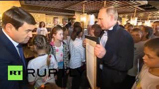 Russia: Ever seen Putin take a SELFIE?