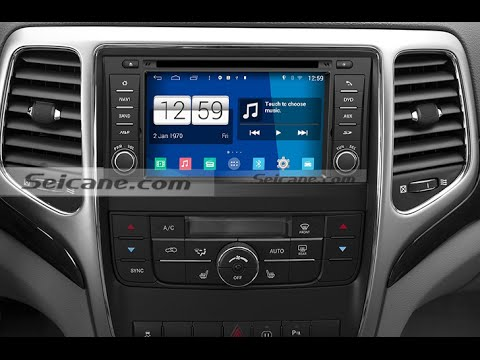 Hd Touch Screen 2011 2012 2013 Jeep Grand Cherokee Cd