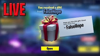 Fortnite GIFTING SKINS TO SUBS | Daily Item Shop | Fortnite Battle Royale