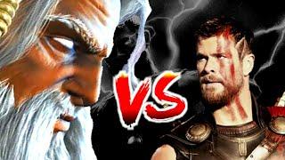 Zeus VS Thor | The Battle Of Gods