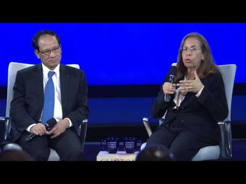Emerging Markets: Panel Discussion with Afsaneh Beschloss and Le Luong Minh - CGI 2015 Annual