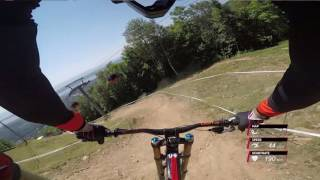 How fast can you go downhill? | Claudio Caluori POV at UCI MTB World Cup Mont Sainte Anne