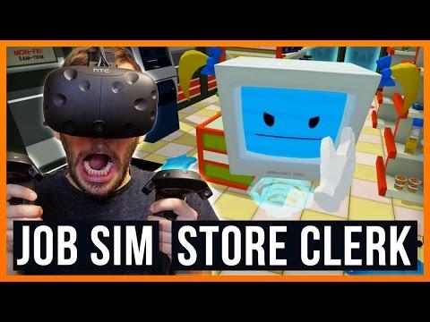 Ich belästige kleine Robo-Mädchen! - Job Simulator