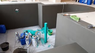 видео Гидроизоляция бассейна своими руками (фото)