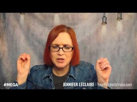 Jennifer LeClaire | Prophetic Word: MEGA Faith & Mega Grace = Mega Movement