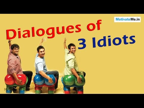 Motivational Dialogues of 3 Idiots