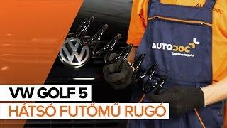 Hogyan cseréljünk Motortartó gumibak VW GOLF V (1K1) - video útmutató
