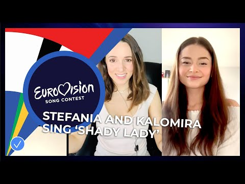 Stefania 🇬🇷 sings 'Shady Lady' together with Kalomira