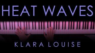 HEAT WAVES | Glass Animals Piano Cover видео