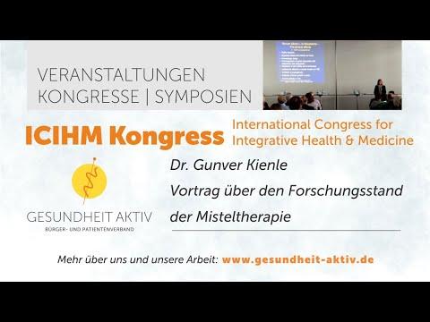 ICIHM Kongress: Vortrag Misteltherapie // Dr. Gunver Kienle