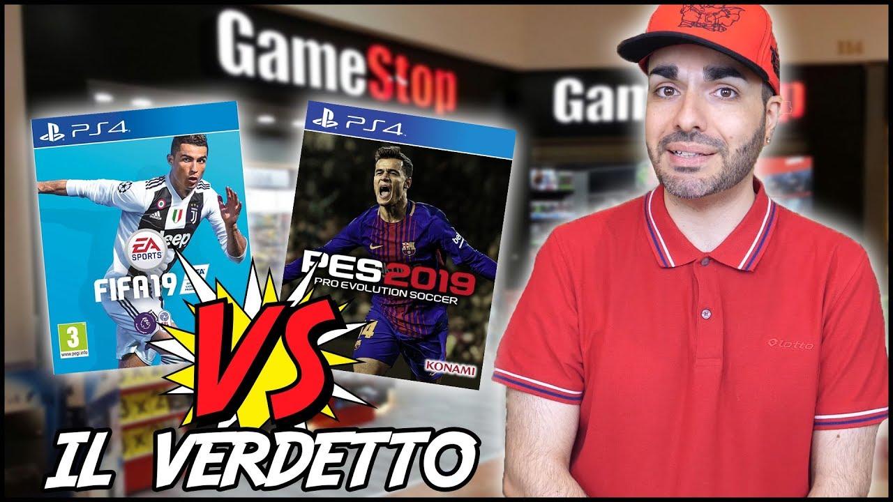 3ecfa72b9baaa FIFA 19 VS PES 2019  UNEXPECTED RESULT! - Il Verdetto (at GAMESTOP)