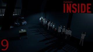 INSIDE прохождение на геймпаде часть 9 Финал: Приключения колобка-мутанта начинаются!
