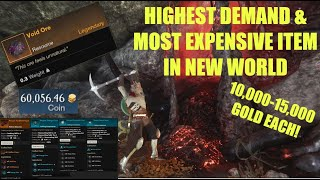Most Valuable & Raŗest Item in New World   How to get Void Ore