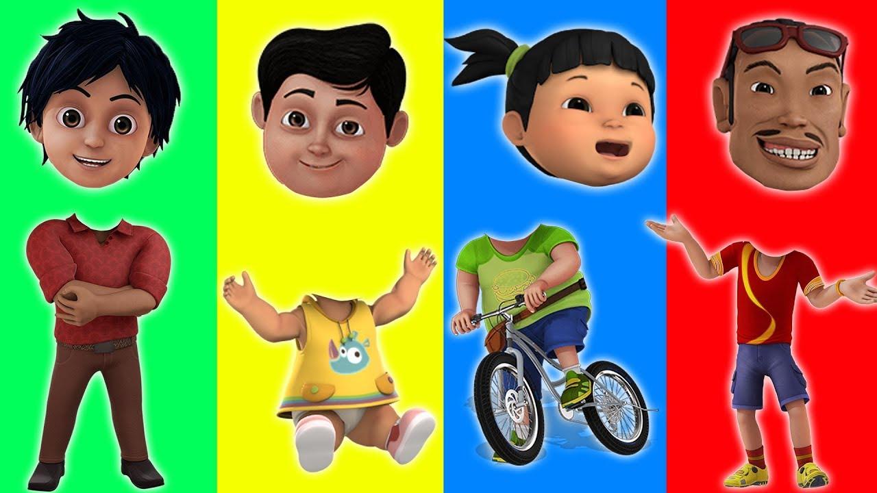 Download Wrong Heads Adit Sopo Jarwo Shiva ANTV TERBARU Nursery Rhymes for Kids