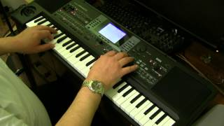 Korg MicroArranger: Rock Ballad with Sax and Piano