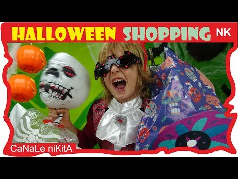 halloween-shopping---acquisti-tiger-,-ikea-,-h&m-tutto-per-halloween-haul-for-kids-canale-nikita