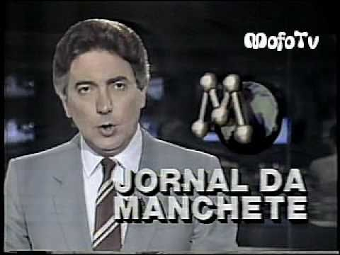 Jornal da Manchete c/ Carlos Bianchini (1987)