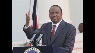 Nyanza people upbeat at President Uhuru visits the region