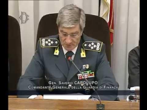 Roma - Audizione Comandante Generale Guardia di Finanza, Capolupo (16.10.14)