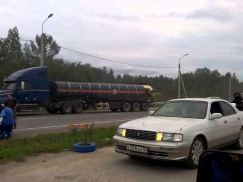 Авария на М53 28.08.2015