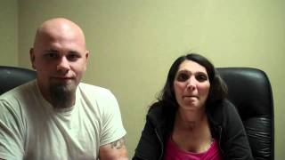 Bruce Harshbarger and his fiance Keila.MP4