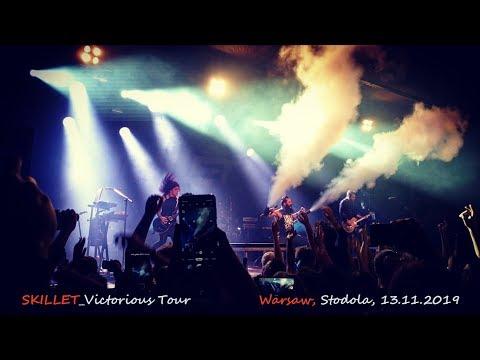Skillet. Victorious Tour (Live In Warsaw, Stodola Club, 13.11.2019)