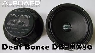 Обзор эстрадных динамиков Deaf Donce DB   MX80 и сравнение с Уралами AS PT200 и AS DB200B