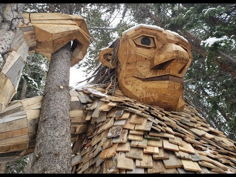 Breckenridge troll Isak Heartstone gets a new home with artist Thomas Dambo